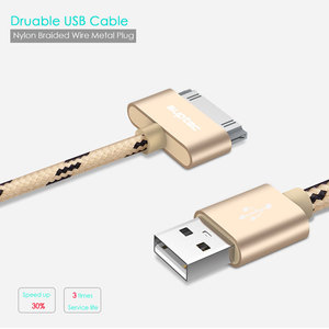SUPTEC USB Cable Fast Charging for iPhone 4 4s 3GS 3G iPad 1 2 3 iPod Nano touch 30 Pin Original Charger Adapter Data Sync Cord