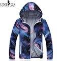 Мужчины Тонкий Пиджак Марка Лето На Открытом Воздухе 2016 мужская Тонкий Защита От Солнца Одежда С Капюшоном Мода Куртки Jaqueta Masculina Z2406