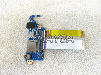 DA0FI3TB8F0 DA0FI3TB8E0 For Sony Vaio SVF15 SVF15N USB SD Card Audio LAN Board With Cable
