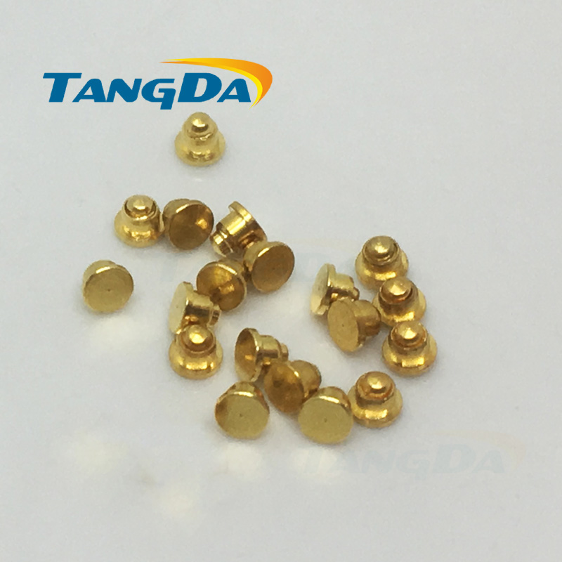 2*1.6mm 2.0 * 1.6 Pogo Pin Connector Diameter:2mm Mobiles Battery Spring 1P Thimble Surface Mount SMD Gold Plate 1u