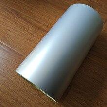 Хорошее A4 (21 см x 29 см лист) самоклеящиеся Стикеры Matt Silver полипропиленовая пленка с клеем для печати этикетки логотип или другие упаковка DIY материалы