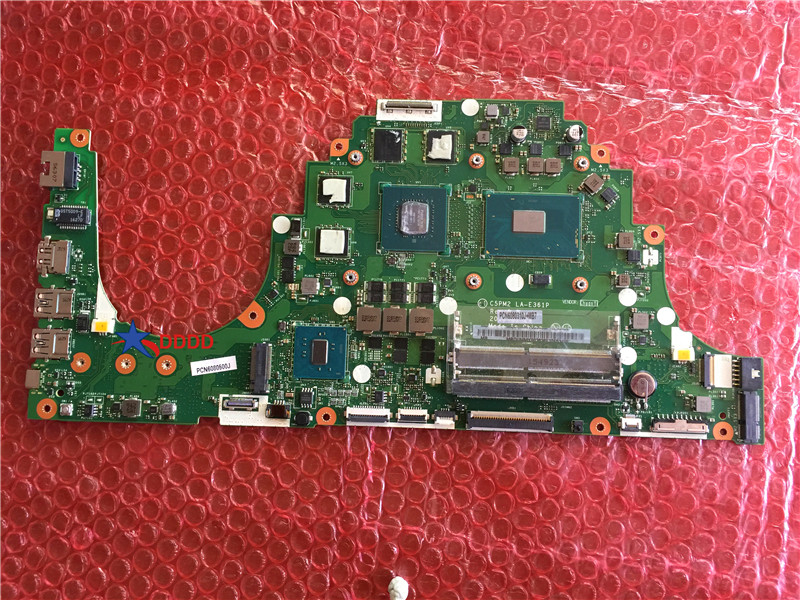 Original FOR Acer Aspire VX5-591G laptop motherboard WITH CPU AND LA-E361P MBDUMMY003 100% working perfect acer vx5 591g 58ax gaming laptop