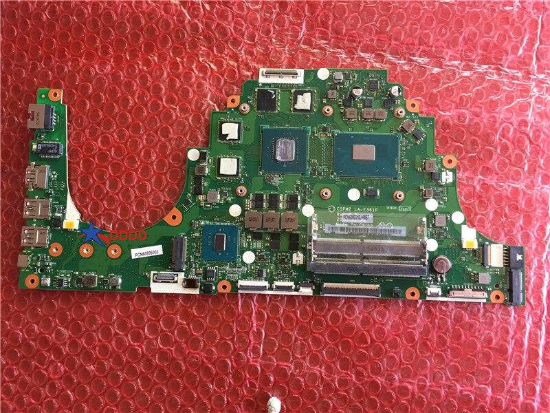 Original PARA Acer Aspire laptop motherboard COM CPU E LA-E361P VX5-591G MBDUMMY003 100% perfeito trabalho