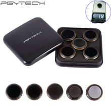 5pcs/set PGYTECH original Lens Filters G-HD-MRC(UV ND4 ND8 ND16 CPL) Lens For DJI MAVIC Pro Accessories Drone