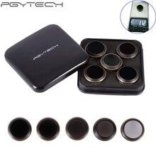 5pcs/set PGYTECH original Lens Filters for MAVIC Pro Accessories Drone G-HD-MCUV ND4 ND8 ND16 CPL HD Filter