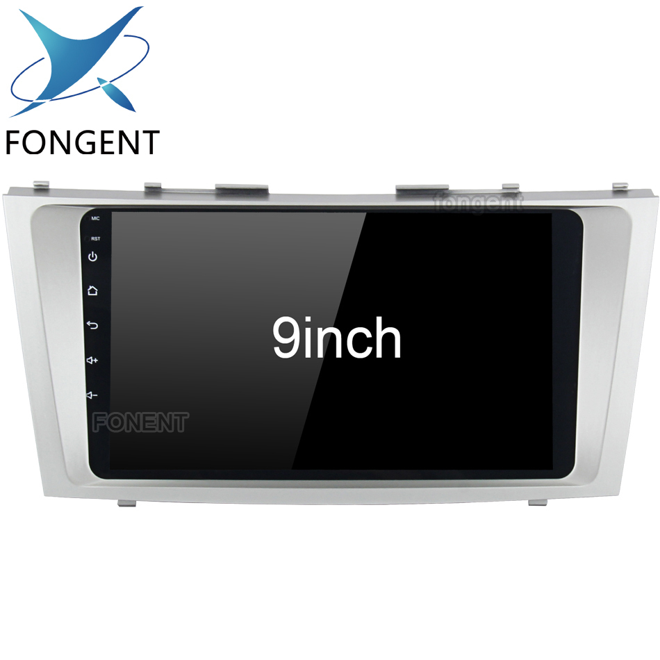 2 Din Android Unit Car Multimedia Player For Toyota Camry 2007 2008 2009 2010 2011 auto Radio Glonass Gps Navigation Map Rds FM цены онлайн