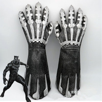 film Avengers Infinity Black War Panther Claw Gloves cosplay prop Weapon Paw For Adult Black Panther Character props weapons