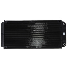 Hight Quality 240mm Aluminum Computer Radiator Water Cooling Cooler Frequency Conversion Driver for CPU LED Heatsink