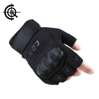 CQB Cycling Gloves Outdoor Riding Sports Camping Wear Non Slip Men Gloves Tactical Equipment Half Finger