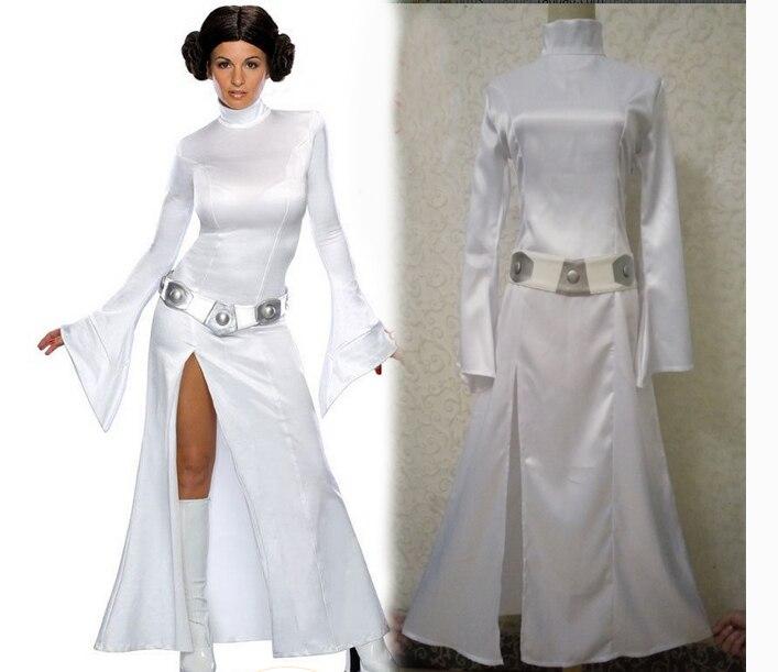 star wars cosplay princess leia organa costume set halloween fancy