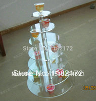 7 Tier free shiping Beautiful Acrylic Cupcake Stand Party / Wedding / Festival Supplies