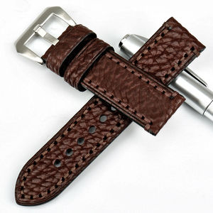 Image 3 - MAIKES New watch accessories 20 22 24 26mm Italian cow leather watchbands brown watch strap for fossil watch band