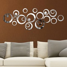 Wall Mirror Stickers Vinyl Art Mural