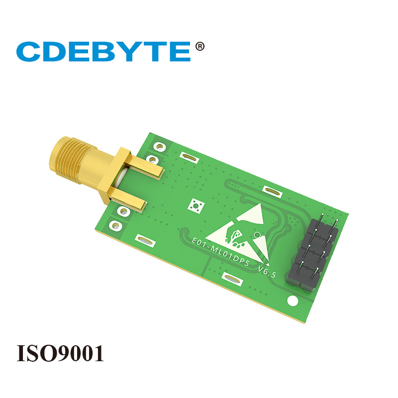 Image 5 - E01 ML01DP5 Long Range SPI nRF24L01P 2.4Ghz 100mW SMA Antenna IoT Wireless Transceiver Transmitter Receiver nRF24L01P RF Module-in Fixed Wireless Terminals from Cellphones & Telecommunications