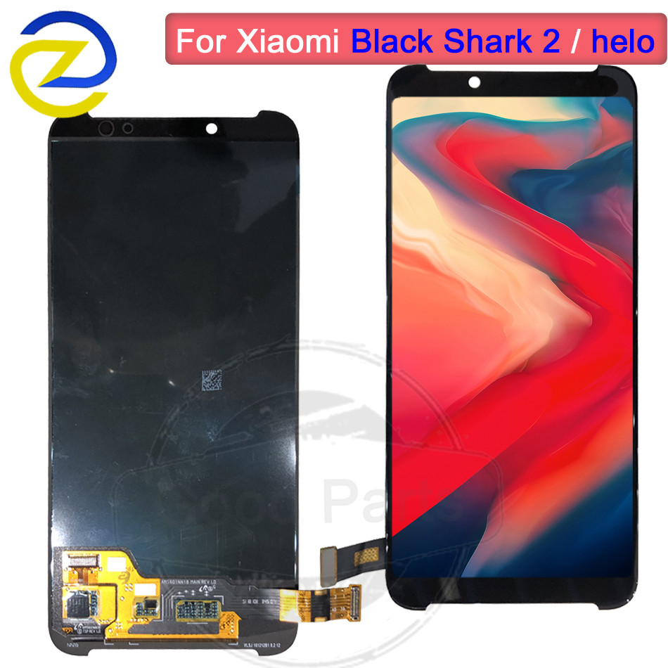 6.01for Xiaomi BlackShark Helo 2 LCD Display Touch Screen Digitizer AWM-A0 lcd Assembly Replace For Xiaomi BlackShark 2 Screen6.01for Xiaomi BlackShark Helo 2 LCD Display Touch Screen Digitizer AWM-A0 lcd Assembly Replace For Xiaomi BlackShark 2 Screen