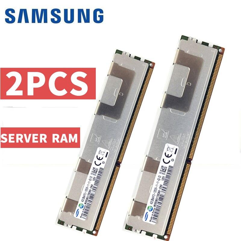 Samsung 4 GB 8 GB 16 GB DDR3 PC3 ECC REG 1333 MHz 1600 MHz 1866 MHz 1066 MHz 10600, 12800, 14900, 8500, 1600 para PC servidor RAM memoria