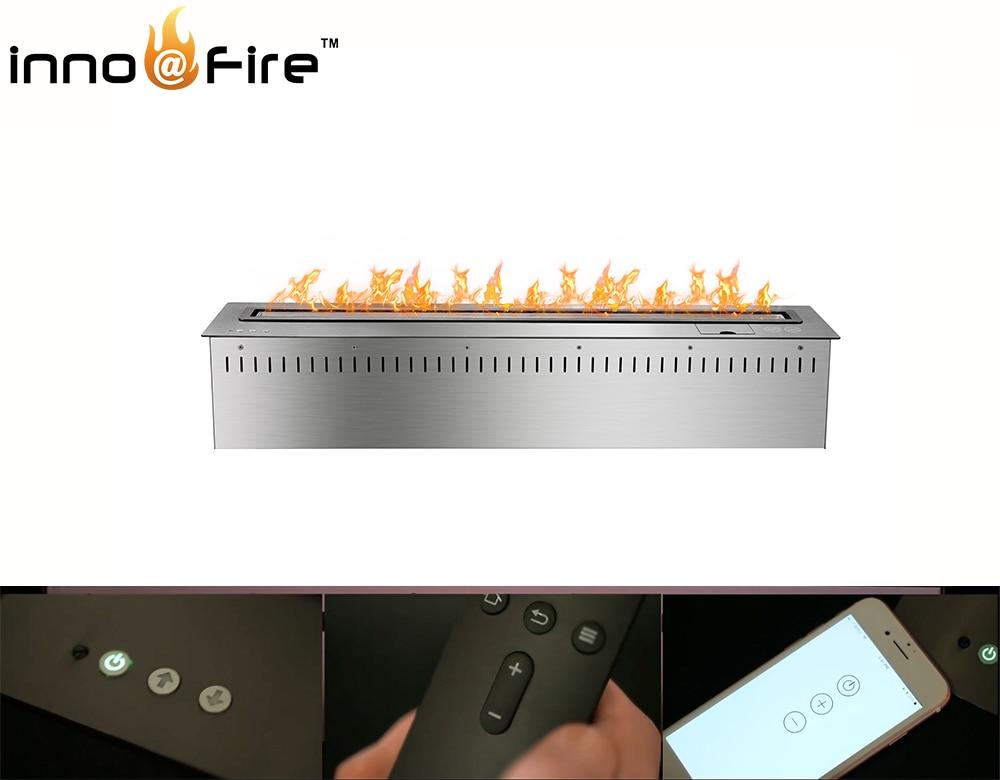 On Sale 48 Inch Remote Contro/wifi Decorative Bioethanol Fireplace