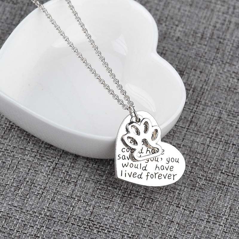 low price hot products cheap Hot Offer #b913 - KYSZDL Wholesale NEW Pet Loss Necklace Necklace ...