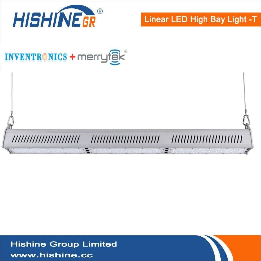 2pcs lot Hishine Group Limited IP65 warehouse Daylight Sensor 150w Linear Led High Bay font