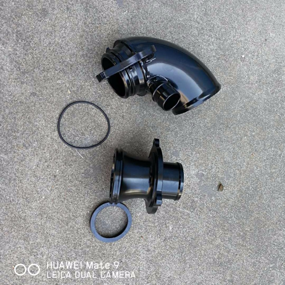 Entrada de turbo y turbo oulet para mk7 gti r20 s3 is38 turbocompresor