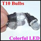 Amazing Flash!!!!! wholesale Auto LED Lighting t10 led car led light T10 Bulbs Colorful LED Wedge Car Light Bulbs Lamp