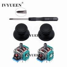 IVYUEEN 3D аналоговый датчик джойстика модуль потенциометра& Thumb Stick для sony playstation 4 PS4 Pro тонкий контроллер запчасти для ремонта