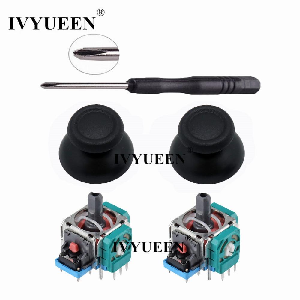 IVYUEEN 3D Analog Joystick Sensor Module Potentiometer & Thumb Stick for Sony PlayStation 4 PS4 Pro Slim Controller Repair Parts(China)