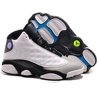 Jordan Air Retro 13 XIII Men Hologram Barons Flints He Got Game Olive Basketball Shoes Athletic