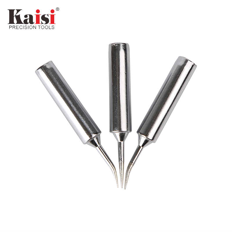 Kaisi 1Piece 900M-T-I 900M-T-IS Oxygen-free Copper Soldering Iron Head Solder Tip Welding Head Soldering Tool