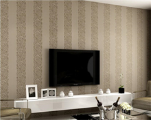 beibehang  papel de parede Modern simple pure color vertical stripes non-woven wallpaper hudas beauty wall papers home decor