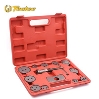 13pcs Universal Auto Car Precision Disc Brake Caliper Wind Back Tool Kit Automobile Repair Tool Kit Set