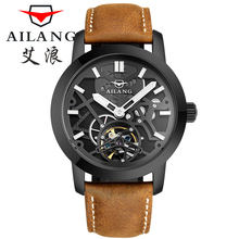 Ailang Watches Luxury Brand of men's Casual Fashion Watch leather watch Automatic dive watches Relogio Male Military