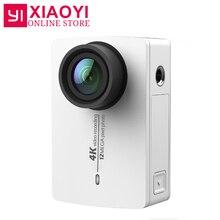 Оригинальный Новинка Yi 4 К Действие Спорт Камера xiaoyi 2 II 2.19 Retina Экран Ambarella A9SE75 12MP 155 шириной 1400 мАч для Xiaomi