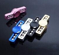 Fidget Spinner Hand Spinner Desk Anti Stress Ball Finger Spin Spinning Top EDC Sensory Aluminum alloy Toy free shipping