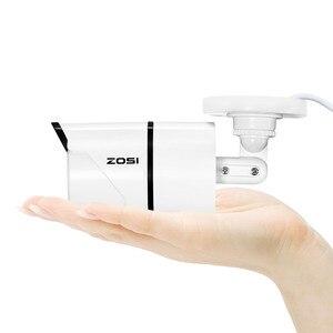 Image 5 - ZOSI 4pcs/lot 1080p HD TVI CCTV Security Cameras ,100ft Night Vision ,Outdoor Whetherproof Surveillance Camera Kit
