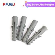 цена на Peng Fa Fish-type nylon expansion nail white plastic pipe nylon expansion plug ash pipe M8M10M12M14