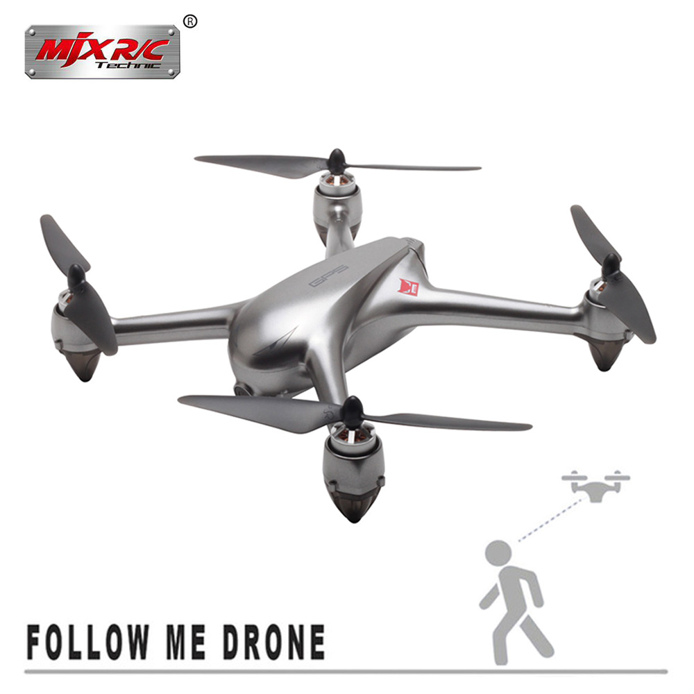 MJX B2SE RC Helicopter 2.4G Borstelloze Motor RC Drone Met 5G WiFi FPV 1080 P HD Camera Professionele quadcopter VS B5W B2W Speelgoed-in RC Helikopters van Speelgoed & Hobbies op  Groep 1