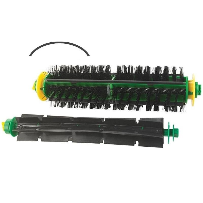 цены на High Quality Bristle & Flexible Beater Brush for iRobot Roomba 500 Series Vacuum Cleaner Parts 520 530 540 550 560 в интернет-магазинах