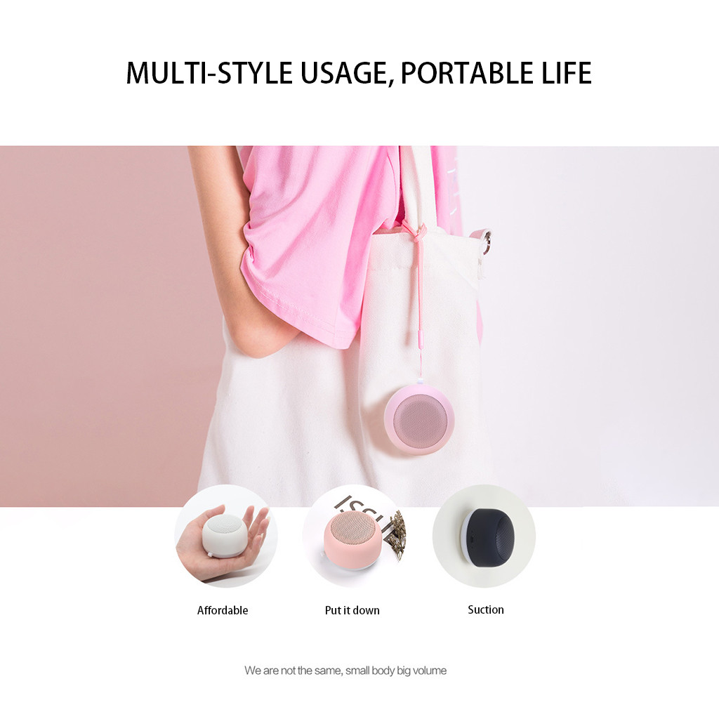 Image 5 - Bluetooth Speaker Portable Wireless Metal Altavoz Bluetooth Wireless Bass Mini Speaker Speakers Outdoor Loudspeaker Music Player-in Portable Speakers from Consumer Electronics