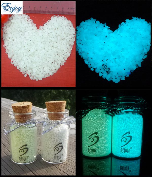 500g/lot Luminous Stone Sand Noctilucent Glow Sand Fairy tiny rock Dust Glow at Night for Glass vial bottle nail glitter luminous glow sand super bright noctilucent sand diy wishing sand 50g lot glow in the dark for wishing glass bottle