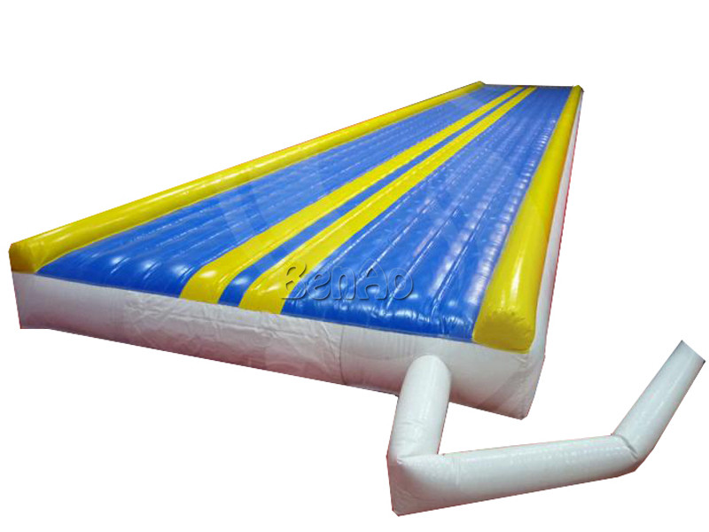 GA101  10m Inflatable tumble track/inflatable gym mat/inflatable airtrick mat +Blower+Repairt Kits+Free Express Shipping