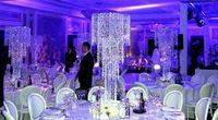 Darmowa wysyłka Akrylowy Kryształ Ślub Centralnym/Tabeli Centralnym decor 80 cm Wysokości od 30 cm Średnica 5-Tier Dostaw Ślubne