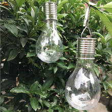 Waterproof Solar Rotatable Outdoor Garden Camping Hanging Stars LED Light Lamp Bulb Decoration 7.5*15cm Dropshipping June#6