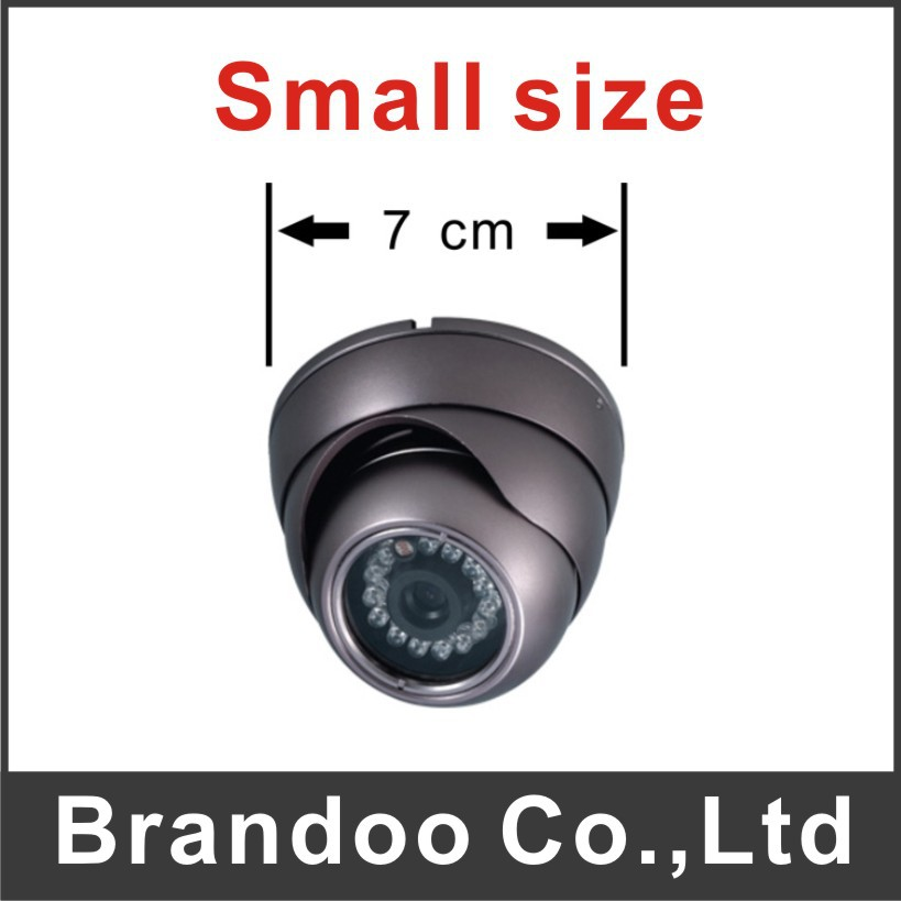 Mini Dome CCTV camera for taxi inside used night vision with 700TVL HD resolution Model CAM