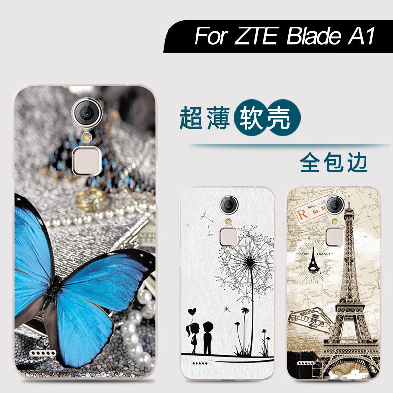 New Arrival Phone Case For ZTE Blade A1 C880U 5-inch Fashion Design Art Painted TPU Soft Case