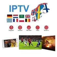 цена на world IPTV Europen IPTV Subscription France UK German Arabic Sweden Poland Portugal for android tv box smart tv boxes h96 max