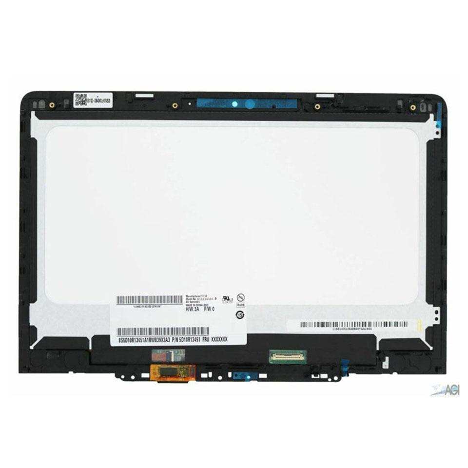 New For Lenovo Chromebook 300E 81H0 LCD Display Touch Screen Digitizer Assembly FRU P N 5D10Q93993