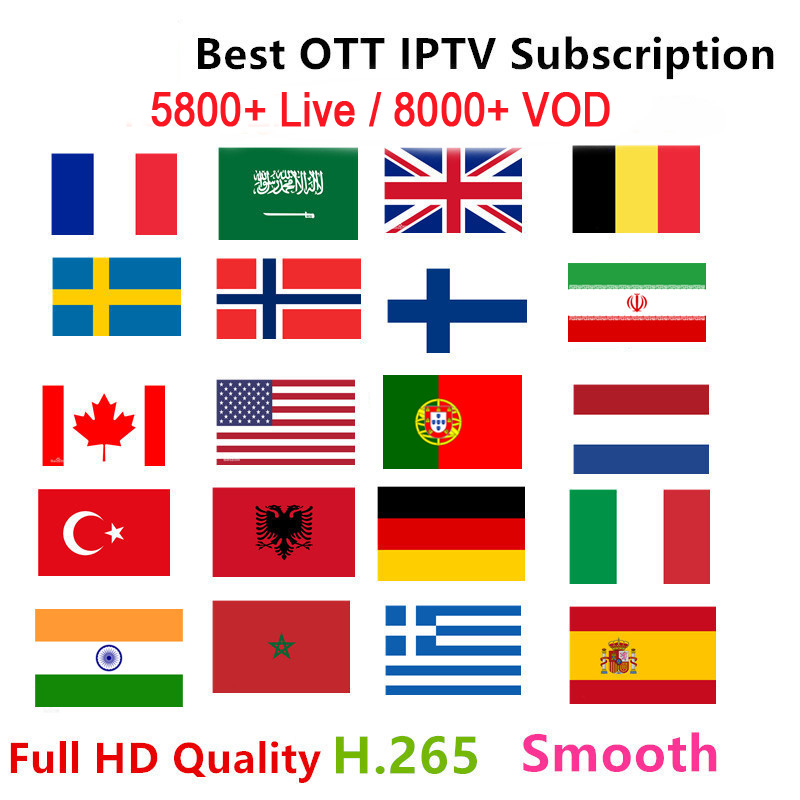 X88 French IPTV Box Europe Arabic Sweden Norway Germany ItalyTurkey UK USA Canada H.265 m3u android enigma 2 smart tv mag 25x-in Set-top Boxes from Consumer Electronics    1