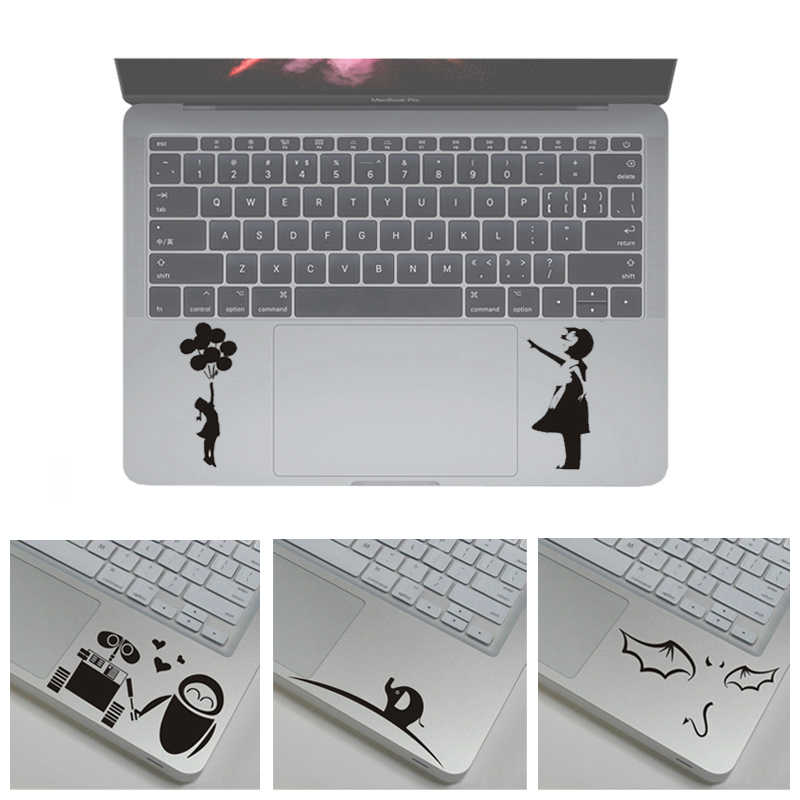 Ngộ Nghĩnh Laptop Bàn Di Chuột Từng Phần Da Miếng Dán Cho Macbook Decal Pro Air Retina Vincy Xách Tay Touc HP AD Da Cho Asus /HP/Huawei
