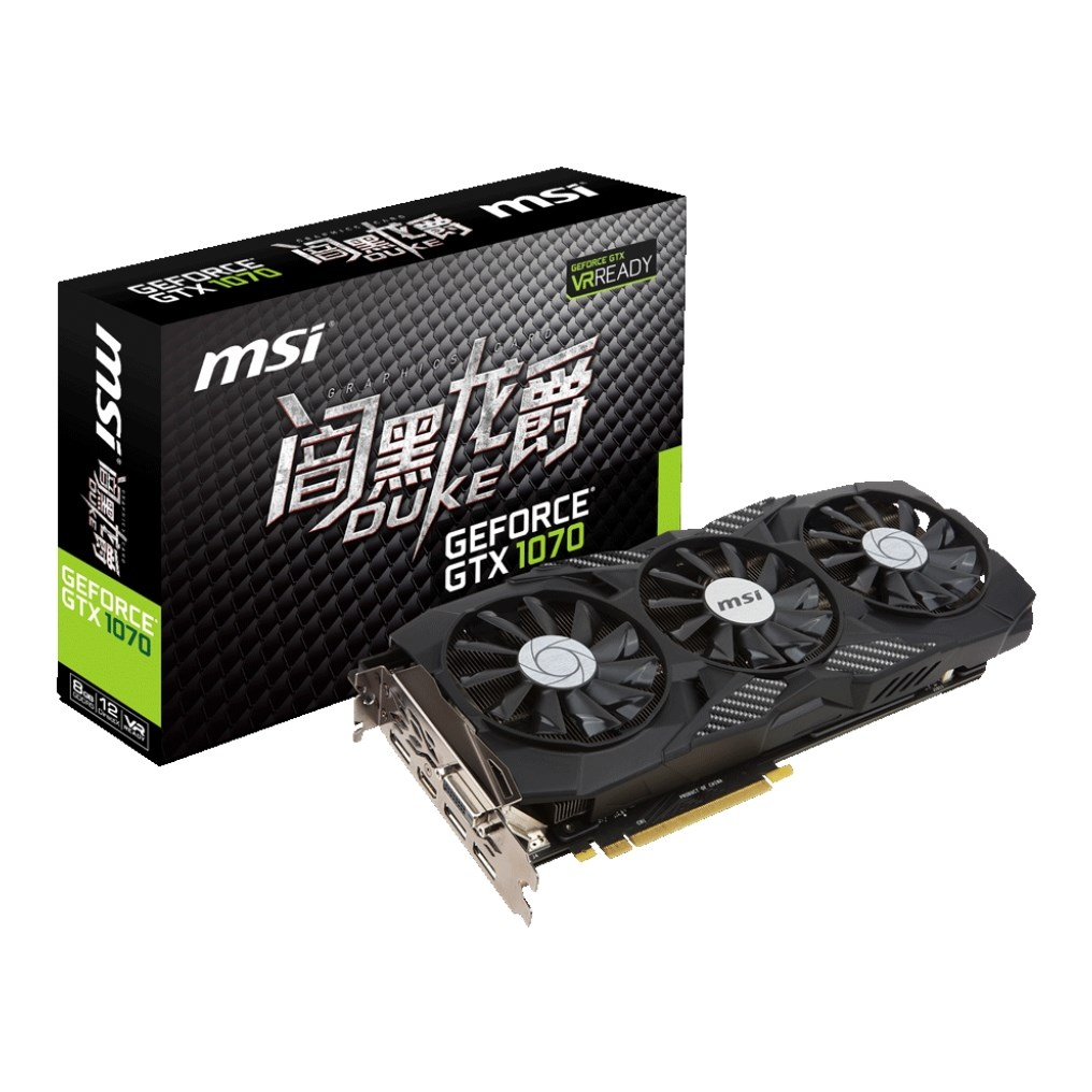 MSI GTX 1080 8G DUKE Diablo 8GB gaming computer independent card ...